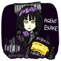 Agent BLAKE by MyHappiiDays