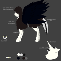Thanatos Pony Reference by TheBlackAngel07