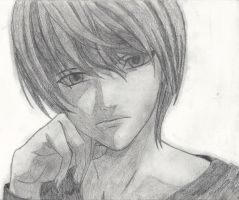 Light Yagami by xRaggsokkenx