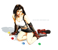 Tifa [Final Fantasy VII] by cat-on-mars