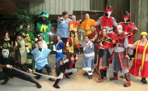 Avatar group cosplay by vanessa1775