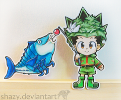 Gon Fishin~ by shazy