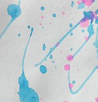 Splatter Paper by mcbadshoes