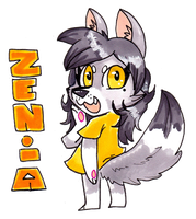 Badge Zenia by CritterKat