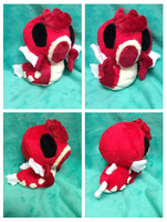 Palm Shiny Gyrados Plush by Glacdeas
