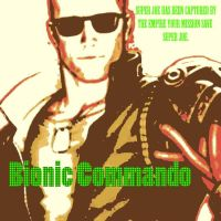 Bionic Commando Movie Poster Pop Art by DevintheCool