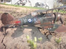 Gloster Gladiator completed 2 by MiGpilot25