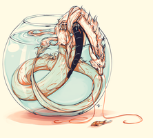 fishbowl by wyum