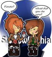 SnK: Flowers by ShadowHachia