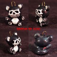 Death Bear Charm ooak may by Undead-Art