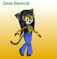 Zelda Blackcat for AnimatedTigerGrrl by jodisamma