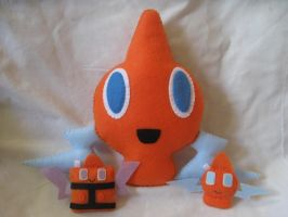 Rotom Pokemon Plushes by P-isfor-Plushes