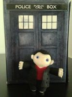 Ninth Doctor - customer by deridolls