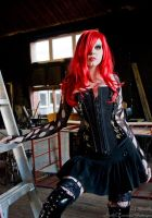 . asylum7 corset . by Countess-Grotesque