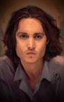 johnny depp by findmymind