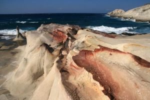 Milos Rocks by Water-flower