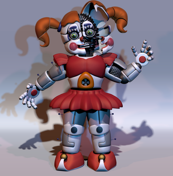 Circus Baby Full Body by ChuizaProductions