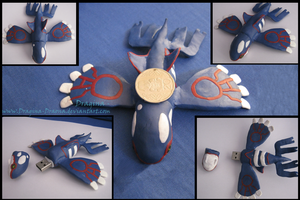 Kyogre in the FLASH by Dragina-Draona
