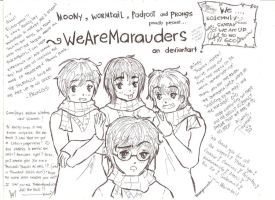 A Thanks To Watchers! by WeAreMarauders
