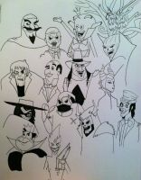 A Very Villainous Round-Up (Updated) by TheForbiddenTenet