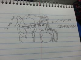 for one of my favorite brony  youtubers by Doctor-SunflowerPony