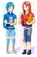 Red and Blue for Sade by Aki-rain