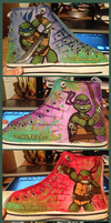 TMNT Shoes by sharkie19