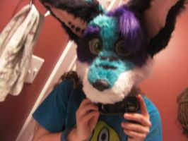 First fursuit head final MIG by CrispyAlien