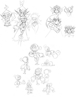 Doodledump, August 1st, 2014 (3/3) by The-Knick