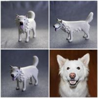 Colt--Custom Painted Husky by MiniMynagerie