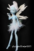 Monster High Abbey Frost Fairy repaint by phairee004
