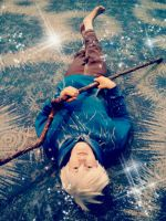 Jack Frost at Phoenix comicon 2013 by FarOffMemoryCosplay