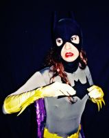 Batgirl Cosplay - In the headlights by ozbattlechick