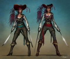 Pirate Lady Design by anthon500