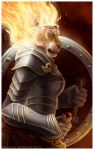 Warrior of the Celestial Flame by Art-of-Sekhmet