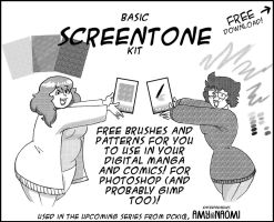 Basic Screentone Kit by DCkiq