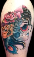 Gypsy Skull Cover up by Uken