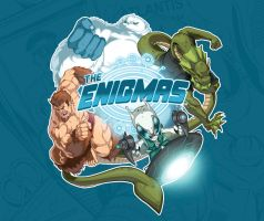 THE ENIGMAS Group Logo by DustinYee