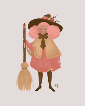 Littlest Witch by tiachristine