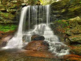 Ricketts Glen State Park 44 by Dracoart-Stock