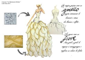 Contest Wedding Dress. by carly2009