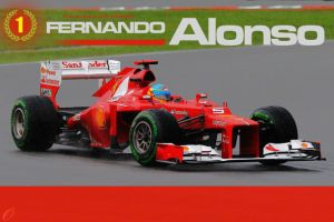 Malaysian GP 2012 Winner: Fernando Alonso by Otani5
