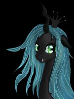 Queen Chrysalis by Elisabethianna