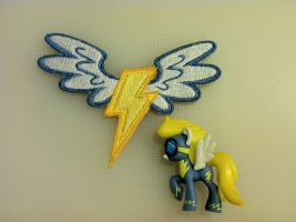 Wonderbolts Patch for a halloween costum by ScrwLoose