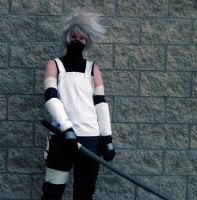 ANBU Kakashi at Otafest '09 by Kale-Night