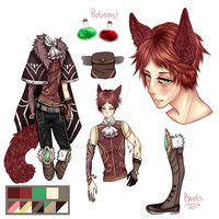 Kemonomimi adopt #8 AUCTION [CLOSED] by Lilithsleepsadopts