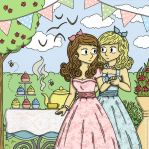 1950's Tea Party by BeckyBumble
