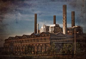 St Louis Factory by Merlinstouch