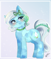Azur Lachrimae - Commission by MrsCurlyStyles