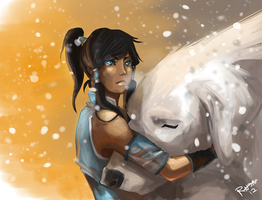 Avatar- Legend of Korra by RavenNoodle